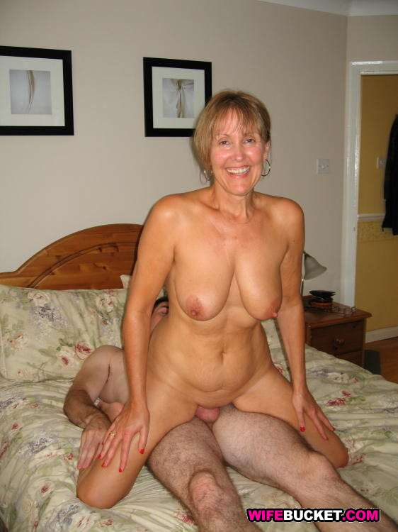 Horny Mature Amateur Wife